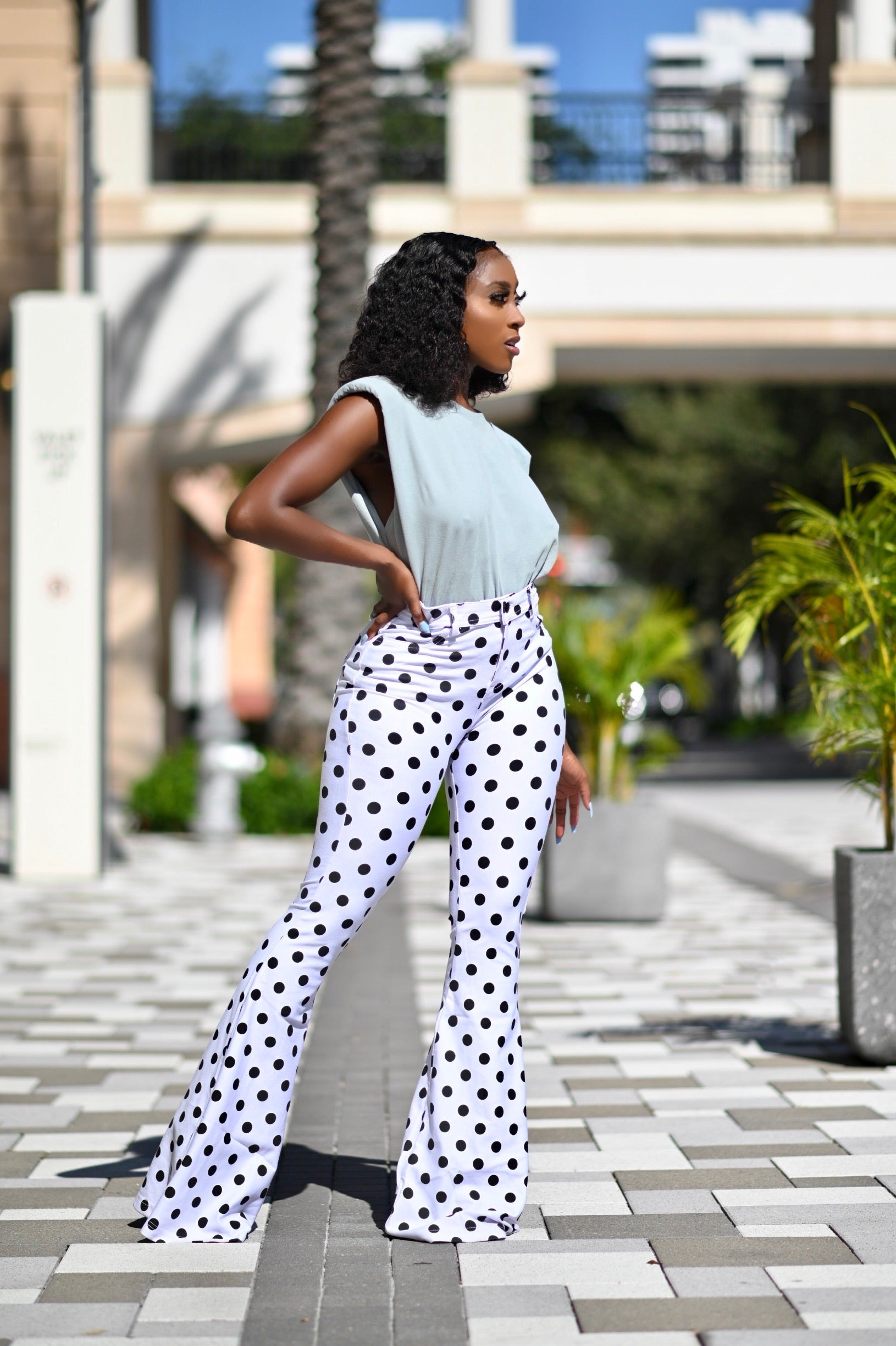 TOOK YOUR SPOT | HIGH WAIST PANTS