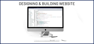 2. DESIGNING & BUILDING WEBSITE