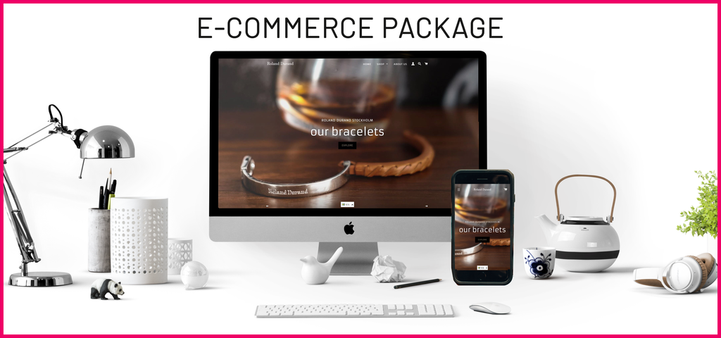 EVERYTHING INCLUDED - PACKAGE E-COMMERCE