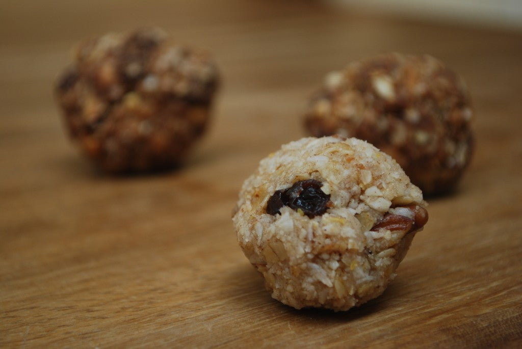 Coconut and apricot balls