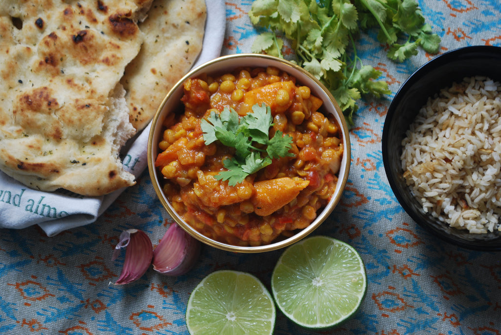 Cold Busting Chickpea & Coconut Curry