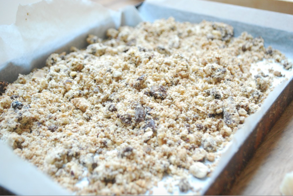 Buckwheat Crumble Topping