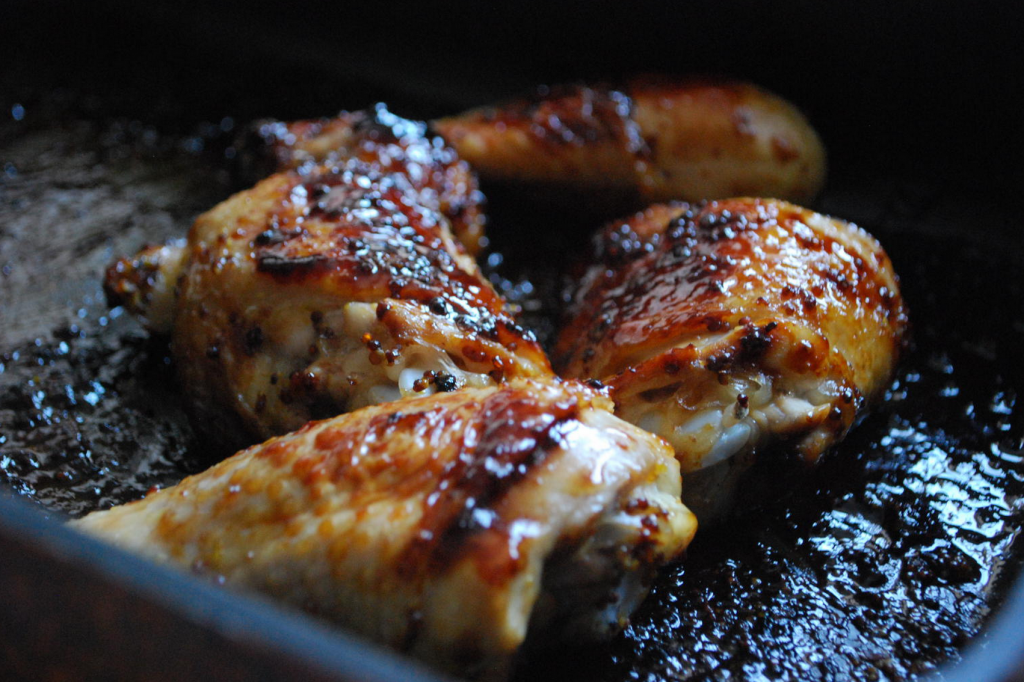 Honey and mustard chicken