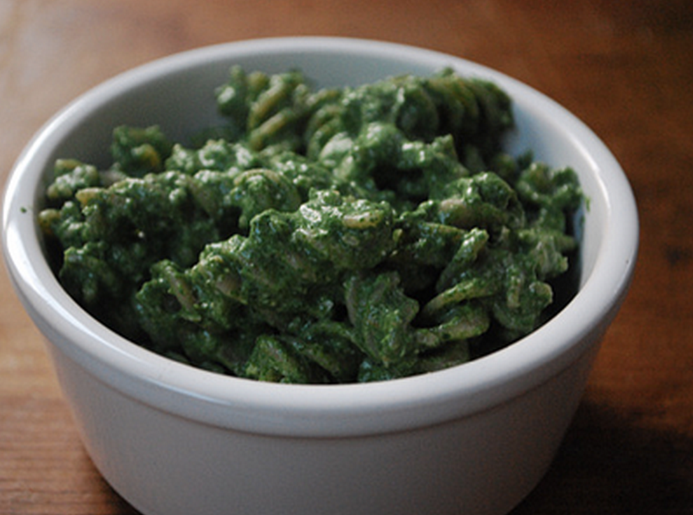 Secret spinach sauce