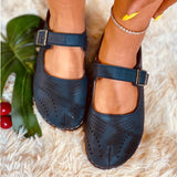 2020 Women's Leather Flat Shoes