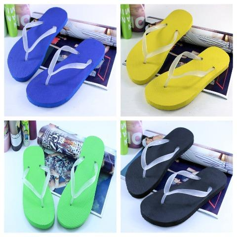 Beach Cool Flat Bright Glow Flip Flops Sandals