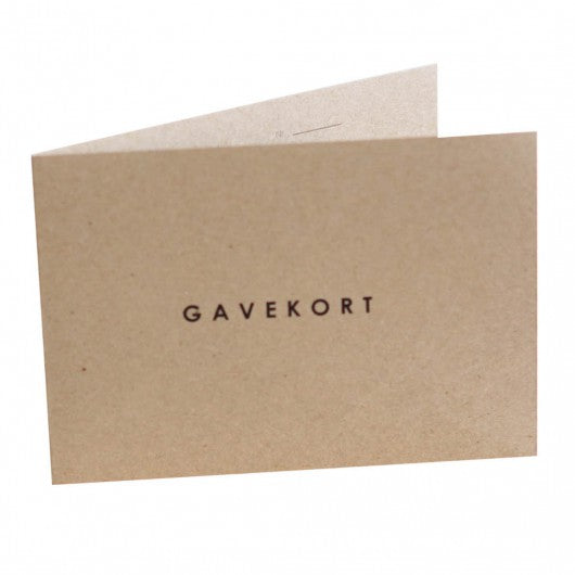 GIFT CARD DKK 2500,- - Better World Fashion