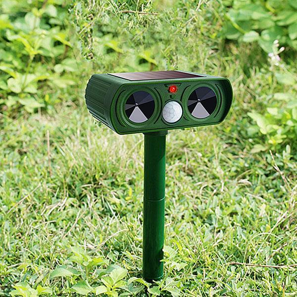 Animals Repeller Solar Power Repellent Deterrent Outdoor Home Garden