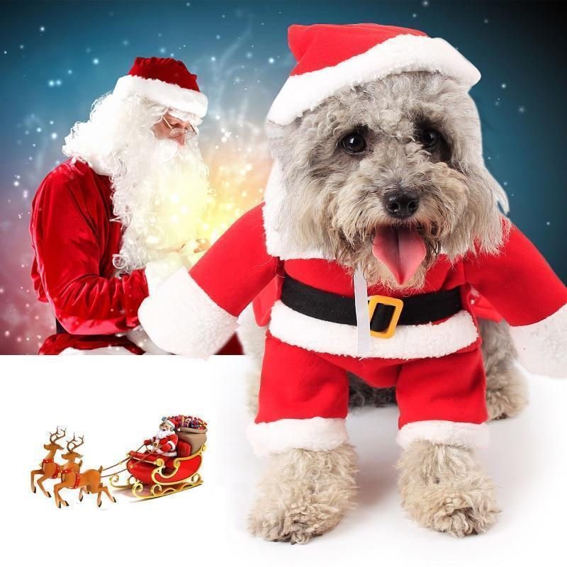 Christmas Santa Pet Costume - Graceasyi