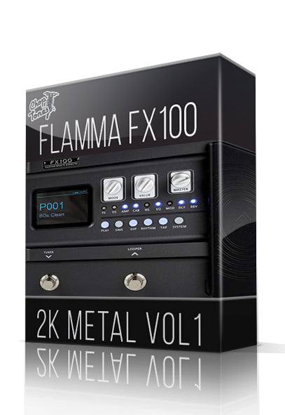 2K Metal vol1 for FX100
