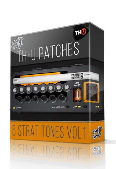 5 Strat Tones vol.1 for Overloud TH-U - ChopTones
