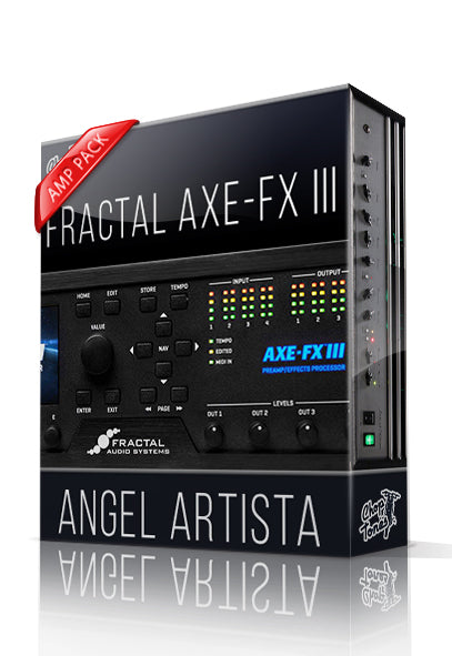 Angel Artista Amp Pack for AXE-FX III - ChopTones