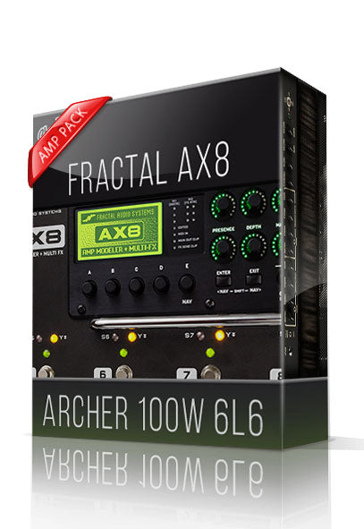 Archer 100W 6L6 Amp Pack for AX8 - ChopTones