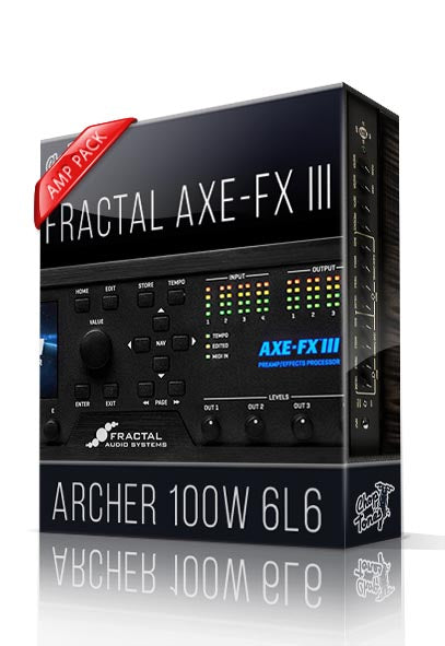 Archer 100W 6L6 Amp Pack for AXE-FX III