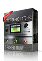 Archer 100W 6L6 Amp Pack for GE200 - ChopTones