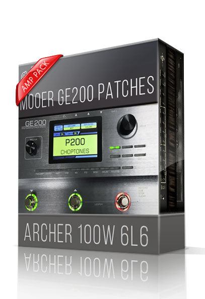 Archer 100W 6L6 Amp Pack for GE200