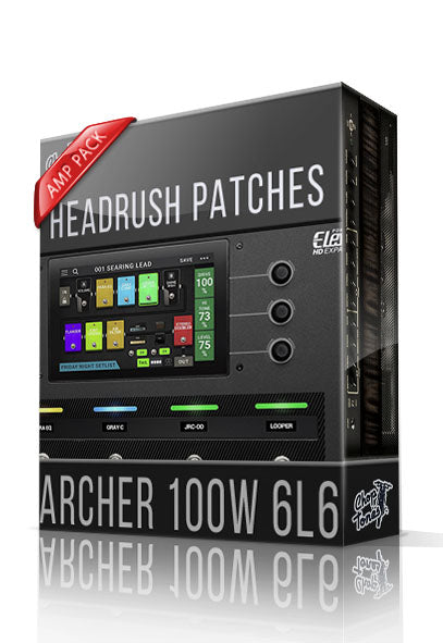 Archer 100W 6L6 Amp Pack for Headrush