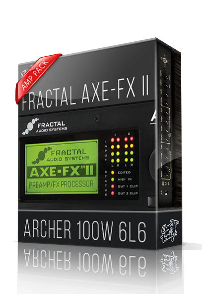 Archer 100W 6L6 Amp Pack for AXE-FX II