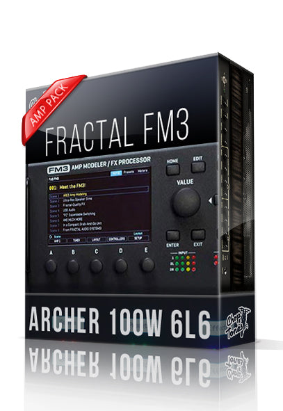 Archer 100W 6L6 Amp Pack for FM3