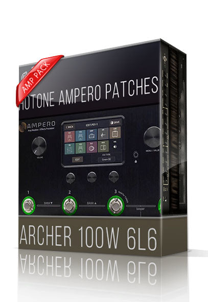 Archer 100W 6L6 Amp Pack for Hotone Ampero - ChopTones