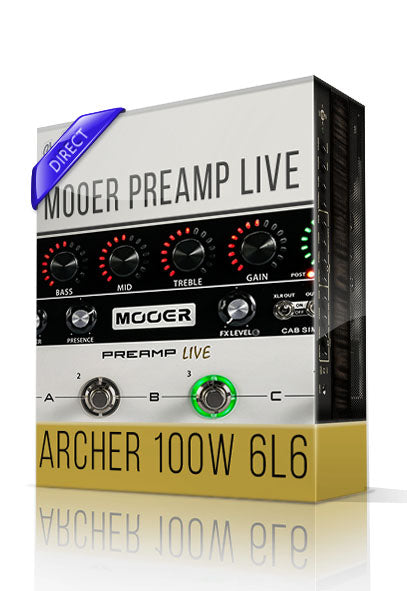 Archer vol.1 Direct Tone Capture for Mooer Preamp Live - ChopTones