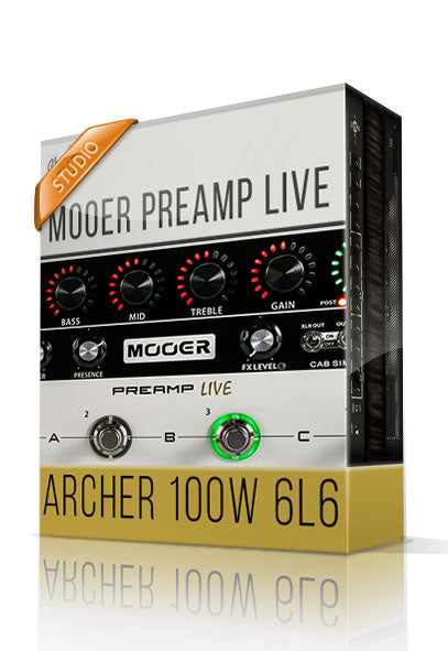 Archer vol.1 Studio Tone Capture for Mooer Preamp Live
