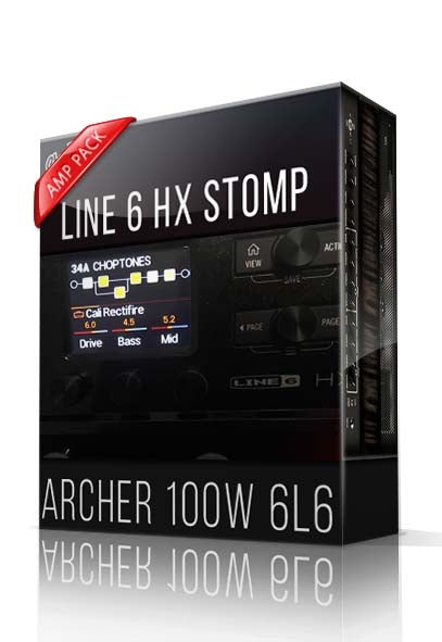 Archer 100W 6L6 Amp Pack for HX Stomp