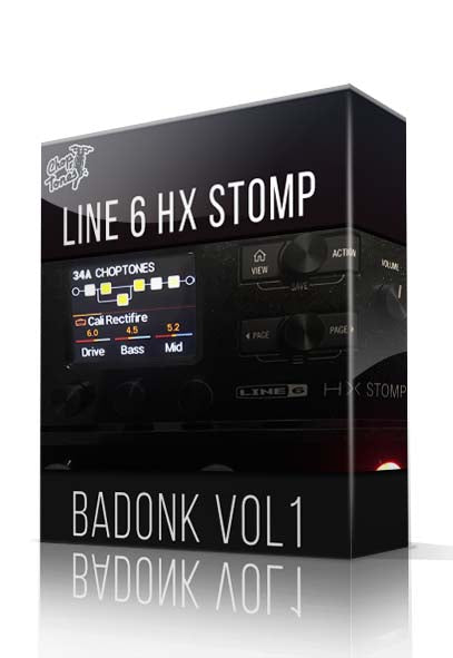 Badonk Vol.1 for HX Stomp - ChopTones