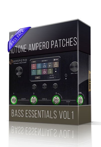 Bass Essentials vol.1 for Hotone Ampero - ChopTones