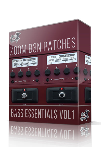 Bass Essentials vol.1 for B3n - ChopTones