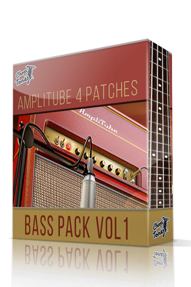 Bass Pack Vol.1 for Amplitube 4 - ChopTones