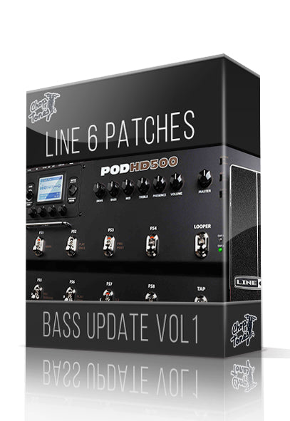 Bass Update Vol.1 for POD HD Series - ChopTones