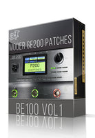 BE100 vol.1 for GE200