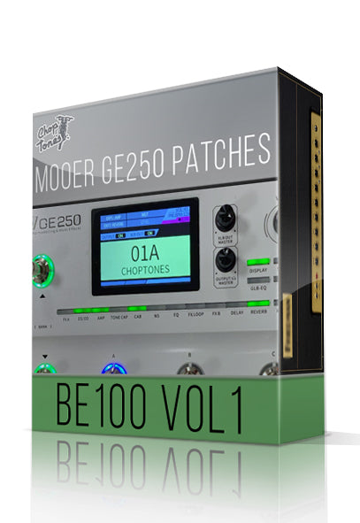 BE100 vol.1 for GE250
