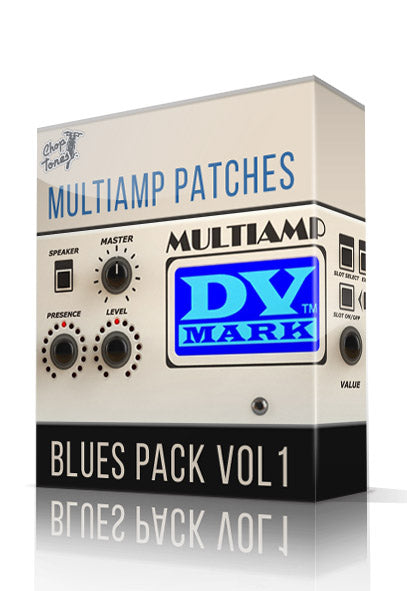 Blues Pack Vol.1 for DV Mark Multiamp - ChopTones