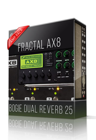 Bogie Dual Reverb 25 Amp Pack for AX8 - ChopTones
