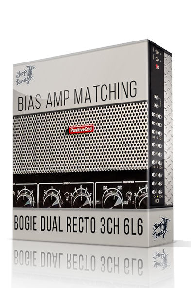 Bogie Dual Recto 3CH 6L6 Bias Amp Matching - ChopTones