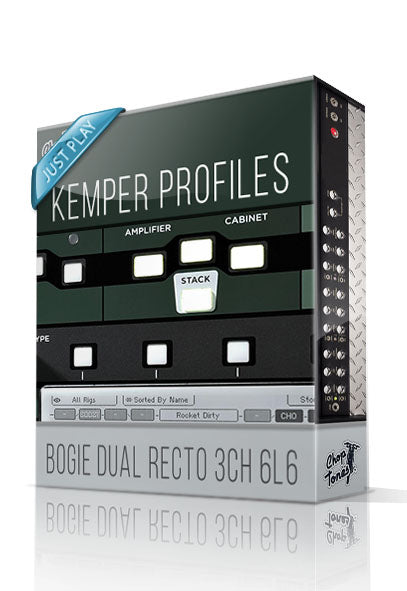 Bogie Dual Recto 3CH 6L6 Just Play Kemper Profiles - ChopTones
