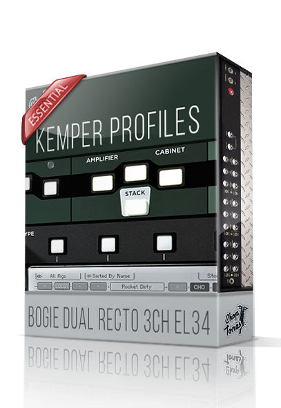 Bogie Dual Recto 3CH EL34 Essential Profiles - ChopTones