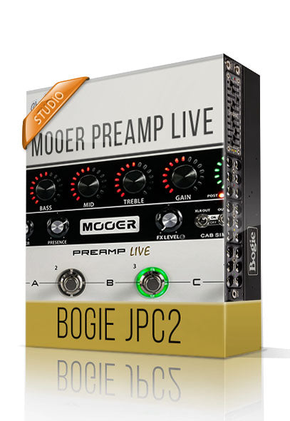 Bogie JPC2 vol.2 Studio Tone Capture for Mooer Preamp Live - ChopTones
