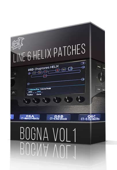 Bogna Vol.1 for Line 6 Helix