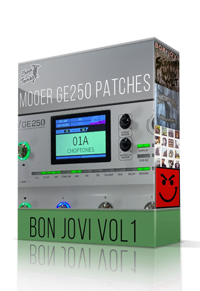 Bon Jovi vol1 for GE250