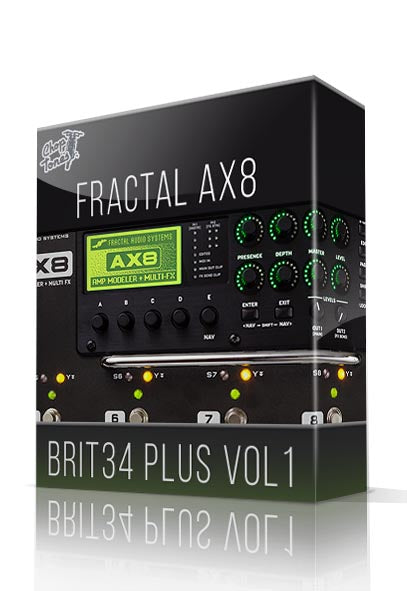 Brit34 Plus Vol.1 for AX8 - ChopTones