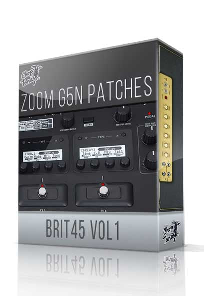 Brit45 vol.1 for G5n - ChopTones