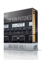 Brit800 vol.1 for G3n/G3Xn - ChopTones