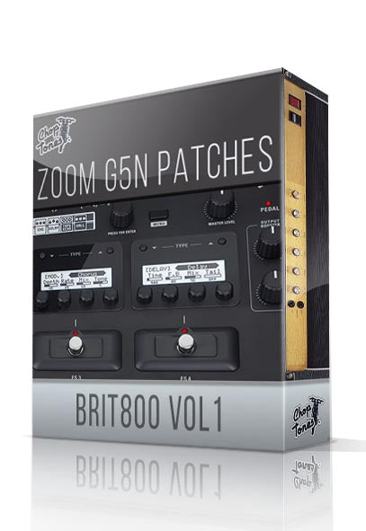 Brit800 vol.1 for G5n - ChopTones