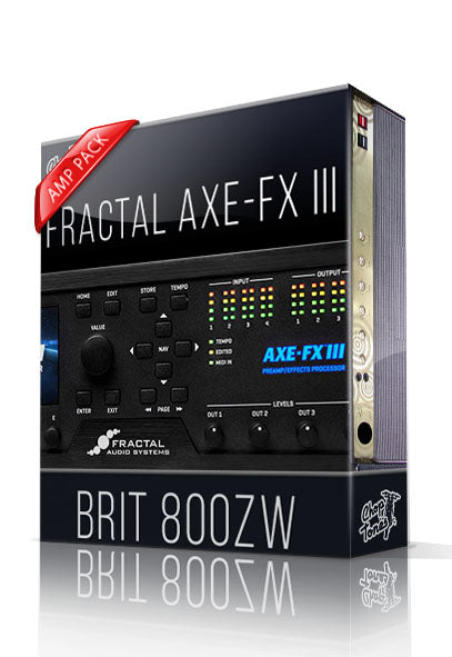 Brit 800ZW Amp Pack for AXE-FX III - ChopTones