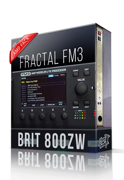Brit 800ZW Amp Pack for FM3