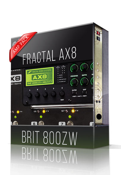 Brit 800ZW Amp Pack for AX8 - ChopTones