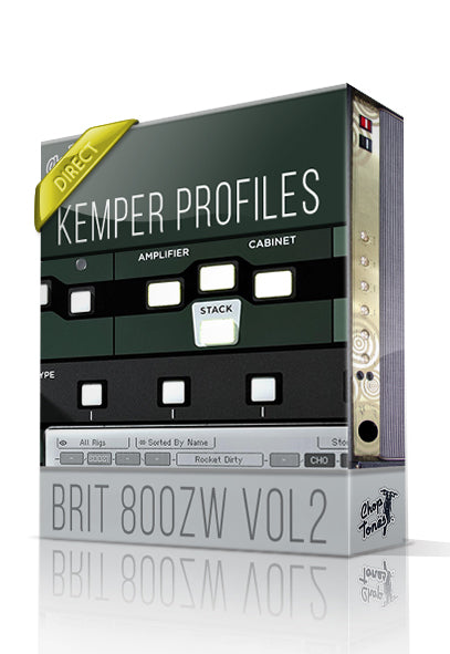 Brit 800ZW vol2 DI Kemper Profiles - ChopTones